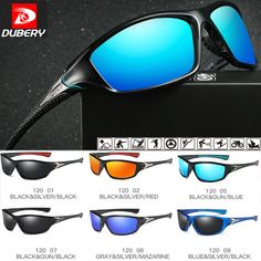 7468bb111 DUBERY Polarized Mens Sunglasses Square Cycling Sport Driving Sun Glasses  UV400 #fashion #clothing #