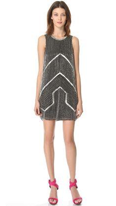 Parker Architect Beaded Dress. Love the retro feel. Fun party dress.