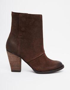 ALDO Izabel Fold Over Heeled Ankle Boots
