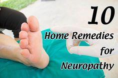10 Home Remedies for Neuropathy. B Vitamins, essential oils, Alpha Lipoic Acid and Cayenne pepper are some of the home remedies to relieve Neuropathy pain.