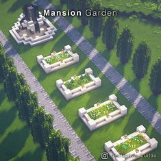 Minecraft Garden, Minecraft House Plans, Minecraft Farm, Minecraft Mansion, Minecraft Cottage, Minecraft House Tutorials, Minecraft House Designs, Minecraft Construction, Minecraft Tutorial