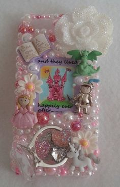 PRINCESS Happily Ever After RING Handmade by ExpressiveCases Diy Phone Case, Cell Phone Cases, Samsung Galaxy Phones, All Iphones, Happily Ever After, Iphone 4, Bling, Notes, Craft Ideas