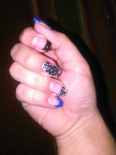 Nails My Works, Class Ring, Sapphire, Nails, Rings, Jewelry, Finger Nails, Jewlery, Ongles