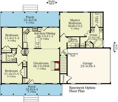Optional no attic stairs closet for great room. extend bedroom closet.re-arrange master bath and open mst. closet to bedroom. extend laundry for pantry space.