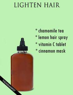 9 natural diy hacks to lighten your hair this summer