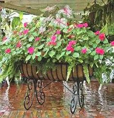 Wrought Iron Planter Ideas | Daily Home Decorating