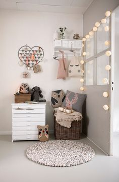 Cute for a kid's room. Blog of the month Nordic Bliss (3)
