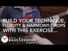 Killer Exercise to Build Your Technique, Fluidity and Harmony Chops - (L#205) - Online Bass Lessons