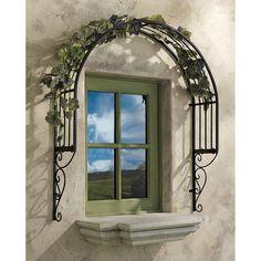 Found it at Wayfair - Thornbury Ornamental Garden Window Trellis Wall Decor