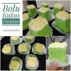 Image may contain: food Pastry Recipes, Cake Recipes, Snack Recipes, Snacks, Bolu Cake, Brownies Kukus, Resep Cake, Cotton Cake, Steamed Cake