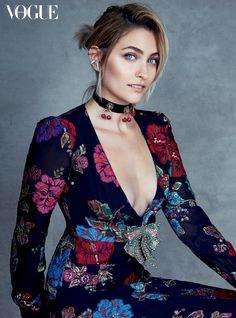 Patrick Demarchelier photographs Paris Jackson for Vogue Australia's July issue