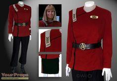 Star Trek VI: The Undiscovered Country - Commander Rand Original Movie Uniform