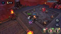Legend of Blades is a Android Free 2 play Action RPG Multiplayer Game featuring delicate design relation system according to the relation between heroes