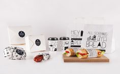 Embutique (Xabier Ogando & Beatriz Peixoto, 2012): a 'take-away' packaging for a Spanish food company in London.