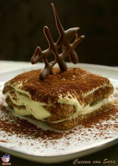 Trendy Ideas For Cheese Cake Ricetta Classica Italian Desserts, Just Desserts, Italian Recipes, Delicious Desserts, Mousse, Sweets Recipes, Wine Recipes, Tiramisu, Scones Ingredients