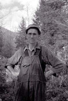 This man was probably from Nicholson Hollow, Virginia – based on neighboring items in the Library of Congress Prints and Photographs online catalog.  Photos in this group of photos were taken by Resettlement Administration staff photographer Arthur Rothstein in October 1935.  -- http://www.zazzle.com/1935_virginia_farmer-228349705685750240  (Eyes of the Great Depression 083.)