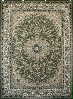 Starting at $25 Free Shipping Area Rugs| Discount Rugs| Carpet|Traditional Rugs| Modern Rugs – Bargain Area Rugs 1018 Green