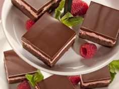 Chocolate Raspberry Dessert