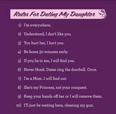 Dating rules at 45