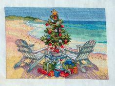 Christmas on the Beach (Cross Stitch)