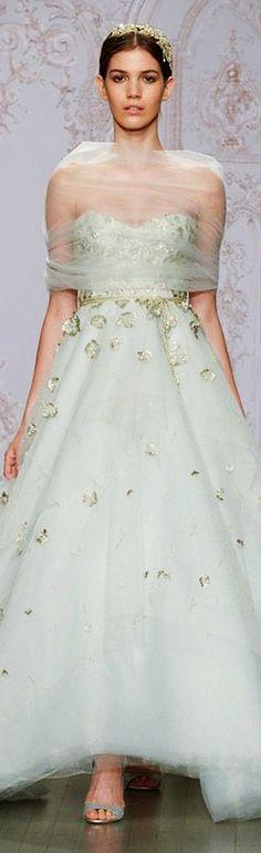 green ball gown wedding dress #green #weddingdress #greendress