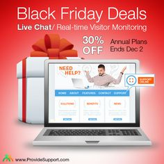 Early Black Friday Deals from Provide Support start today! Empower your customer service team with a Live Chat/ Real-time Visitor Monitoring tool at an incredible 30% discount for 1-year subscriptions! The offer is valid up to December 2. Click our Live Chat to grab your discount now: http://www.providesupport.com/christmas-sale.html #livechatsoftware #blackfriday