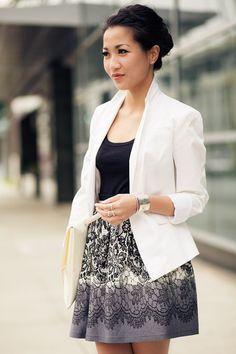 Traveler :: Printed skirt