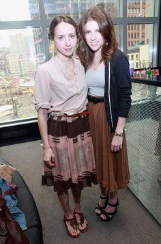 Zoe Kazan and Anna Kendrick