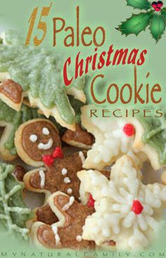 15 of the Best Paleo Christmas Cookies Recipes