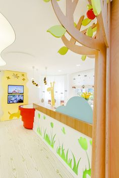 Amazing Ideas of How to Design a Modern Dental Clinic for Children part 2 DesignRulz.com