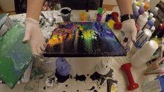 Acrylic Pouring 61 Fluid Acrylic Painting