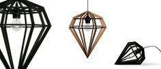 Döden Lampa - Tvåfota Design, via Olsson & Gerthel