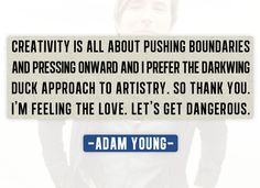 Love Adam Young and Owl City!