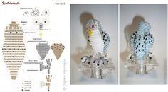 Совы из бисера (15 схем) / Брелоки и аксессуары, Животные и птицы / Biserok.org