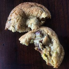Roasted Pistachio Chocolate Chip Cookies from Dust Doughworks