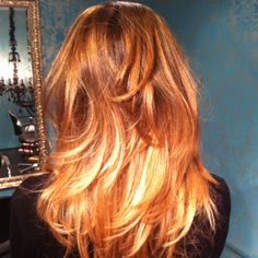 Ombré Hair Color by SeanG Creations- Pipino Salon NYC