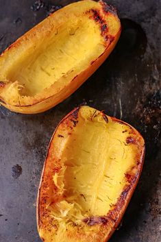 How to Cook Spaghetti Squash Boats - Savory Thoughts - Here's the right way to cook spaghetti squash boats! This method will leave you with a juicy, tender, spaghetti-like experience every single time. Full of fiber and other nutritious value. Spaghetti Squash Sauce, Diabetic Recipes, Cooking Recipes, Squash Boats, How To Make Spaghetti, Lean And Green Meals, My Best Recipe, Meat Sauce, One Pot Meals