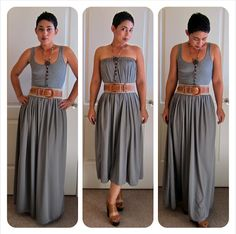 The Crafted Sparrow: 10 Great Summer DIY Maxi Dress & Skirt Tutorials!!