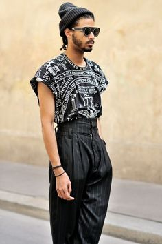 【2016春夏】今流ワイドパンツ着こなし50選|おしゃれ海外メンズスナップ集|JOOY [ジョーイ]