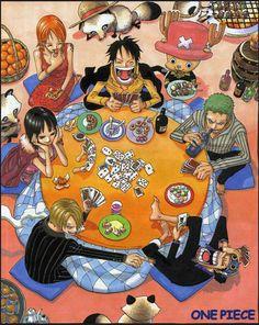 Tags: ONE PIECE, Nami (ONE PIECE), Sanji, Nico Robin, Roronoa Zoro, Usopp, Monkey D. Luffy, Tony Tony Chopper, Oda Eiichirou, Straw Hat Pirates