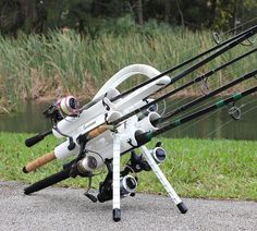 Portable Fishing Rod Holder Rod Caddy Carrier. Introducing the latest in fishing rod transportation. Whether you're fishing bridges, beaches, or boats; inshore or offshore, freshwater or saltwater. Now you can go fishing faster and stay fishing longer with the Rod-Runner! Protect & Respect your Fishing Rods with a Rod-Runner fishing rod holder rod caddy!
