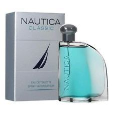 NAUTICA CLASSIC COLOGNE MEN 3.4 OZ EAU DE TOILETTE SPRAY BRAND NEW IN BOX SEALED