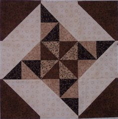 Block 3 by billiemick, via Flickr Gee... I so love this fabric...I wonder why..LB
