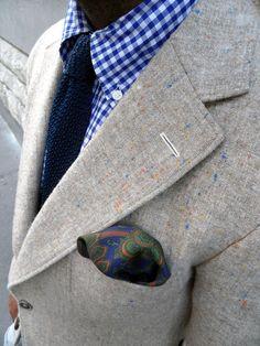 Les Frères JO' - Men's Style Inspiration: STREET LOOK - speckled jacket
