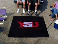 Youngstown State Penguins Area Rug - Tailgater