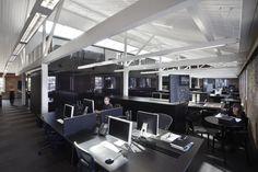 Workstations at Saatchi & Saatchi, NSW Designed by Smart Design Studio