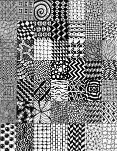 20 + most popular ways to art designs patterns doodles 40 zentangle in 2019 Cute Designs To Draw, Doodle Art Designs, Doodle Patterns, Zentangle Patterns, Doodle Art Drawing, Zentangle Drawings, Doodle Sketch, Zentangles, Pattern Drawing