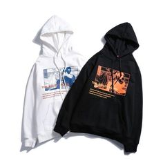 and inspired hoodie is available in black and white 😍 Trendy Hoodies, Aesthetic Shirts, Japanese Streetwear, Japanese Outfits, Matching Outfits, Sweatshirts, Geisha, Inspired, Urban