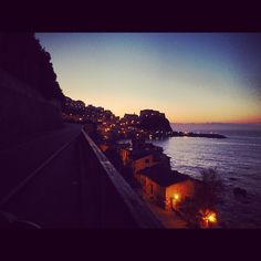 Astonishing Sea Road in Calabria (IT) - #weather #instagram #metwit