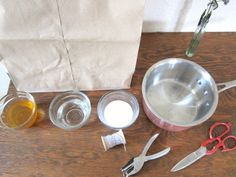 simple living :: make your own sticky fly paper